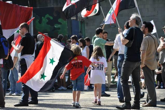 fronte europeo per la siria