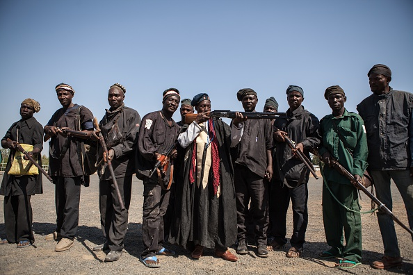 NIGERIA-UNREST-HUNTING-BOKO HARAM