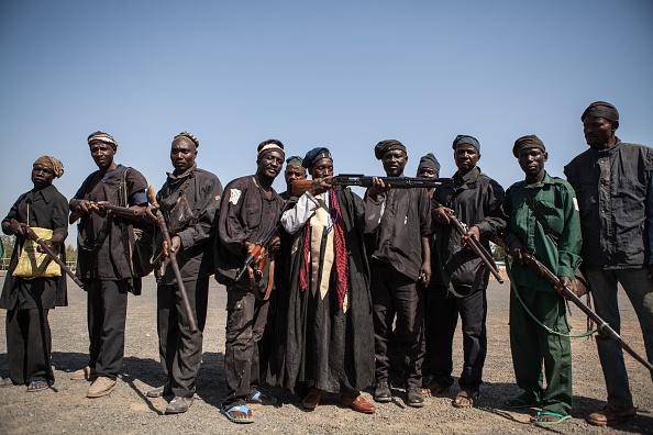 NIGERIA-UNREST-HUNTING-BOKO HARAM