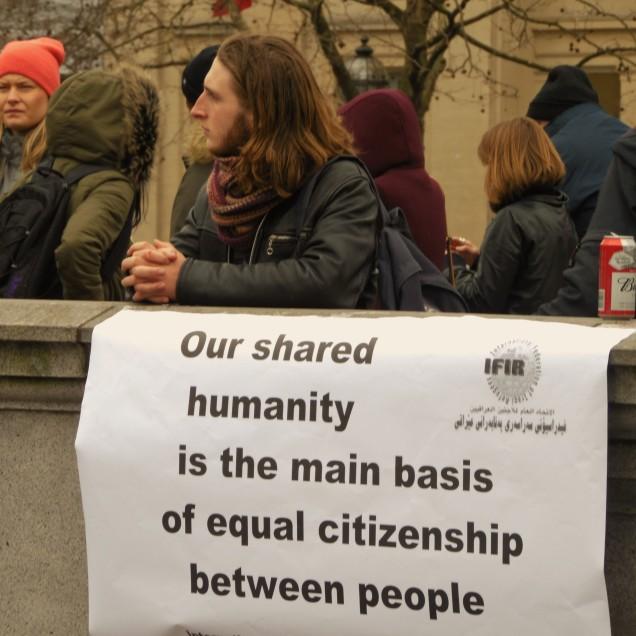 """""""La nostra comune umanità è la base principale della pari cittadinanza tra le persone"""""""