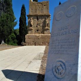 """La """"torre degli Scipioni"""" a Tarragona (Spagna)"""