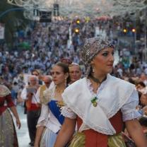 """I festeggiamenti per le """"Hogueras"""" mi accolgono all'arrivo ad Alicante (Spagna)"""
